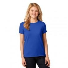 Key Round Neck Short Sleeve T-Shirt - Royal Blue
