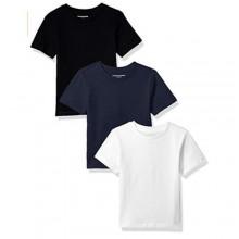 Bundle of 3 Round Neck Short Sleeve T-Shirt - Multicolour