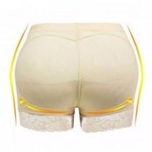 Padded Butt Lifter Body Shaper - Beige
