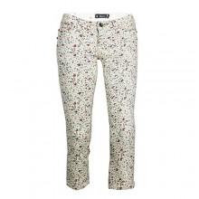 Blanco Tricott Floral Print 3/4 Trousers - Multicolour