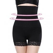 High Waist Tummy Control Body Shaper - Black