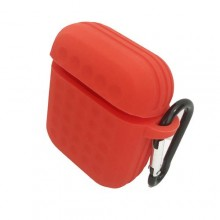 Protective Sleeve Pouch for Apple Air- pods 1 Red