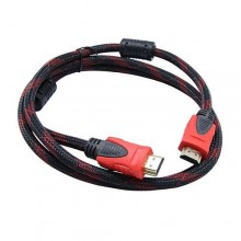 HDMI to HDMI Cable - 1.5m Black/Red