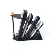 Remote Control Organizer Rack - Black