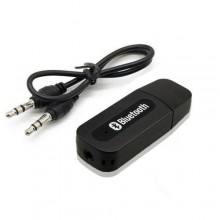 Portable USB Bluetooth Audio Receiver - Black