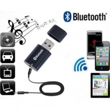 Portable USB Bluetooth Audio Receiver - Black