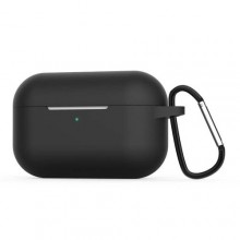 Silicone Case Covers for Air-pods Pro - Black