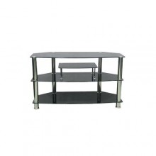"""Large Home Entertainment TV Stand - 42"""" x 13"""" x 15"""" - Black"""