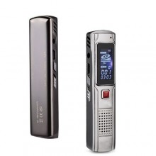 MP3 Digital Voice Recorder - 8GB - Grey