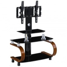 "Plasma Home Entertainment TV Stand - 42"" x 13"" x 15"" - Black"