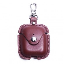 Protective Sleeve Pouch for Airpods - Brown