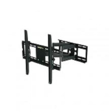 "Full Motion Universal Adjustable TV Wall Mount Tilt Swivel Bracket Fit - 26"" - 55"" Black"