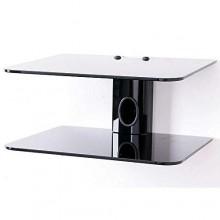 Decoder/DVD Wall Mount & TV Guard - Black