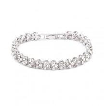 Crystal Bracelet - Silver