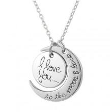 Pendant Necklace - Silver