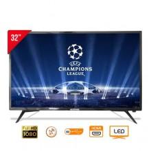 westpool WP-3212 Digital Satellite HD LED TV - 32'' Black