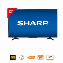 "Sharp 2T-C32BC6NX Digital Satellite LED TV - 32"" Black"