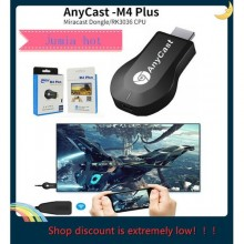 Anycast M4plus Chromecast 2 Mirroring Multiple Para TV Stick Dongle Mini Android Chrome Cast WiFi HDMI Adapter 1080P M4 plus