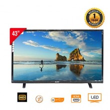 "Blutek WB4300TS HD Satellite LED TV - 43"" Black"