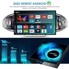 Android 10.0 T95 Smart TV Box 4+32G WiFi Ultra HD - Black