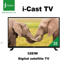 "Syinix 32E1M - i-CAST Digital Satellite TV - 32"" Black"