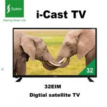 "Syinix 32E1M - i-CAST Digital Satellite TV - 32"" Black"