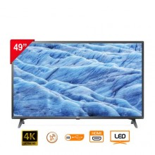 """LG 49UM7340 - Ultra HD 4K TV - 49"""" Black + Magic Remote"""