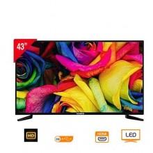 "Nasco LED43"" Digital Satellite HD TV - 43"" Black"