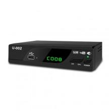DV3T2 Digital Decoder Full HD 1080p U-002 - Black