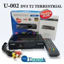 DV3T2 Digital Decoder Full HD 1080p U-002 - Black
