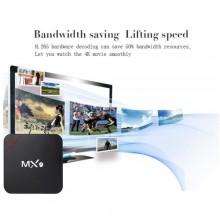 MX9 TV Box WiFi 1+8GB Smart Media Player - Black