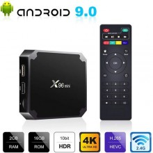Android 9.0 X96 Mini Smart TV Box 2 + 16G WiFi - Black