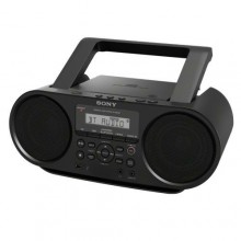 Sony ZSRS60BT CD Boombox with Bluetooth & NFC - Black