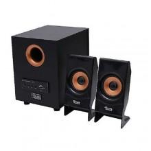 Triple Power C10-Plus Super Bass USB Bluetooth Subwoofer - Black/Gold