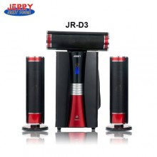 Jerry Power JR-D3 Home Theatre - Black/Red