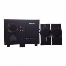 Andrew C-6 Bluetooth Super Bass USB 2.1 Subwoofer + Remote Control - Black