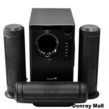 Era Ear Bluetooth Home Theatre With Remote Control - Black