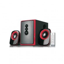 2.1 Channel Sub Woofer System With Remote Control - Black