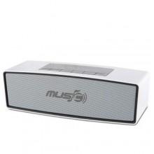WS-636BT Bluetooth Wireless Speaker with FM Radio - White