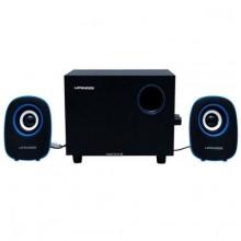 Lenrue C3 Bluetooth Super Bass 2.1 USB Subwoofer - Black/Blue
