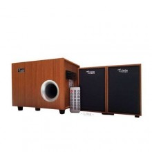 Triple Power C20 Extra Bass USB Bluetooth Speaker With Remote - Brown