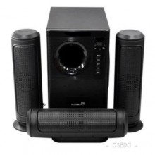 6030 3.1 Bluetooth Home Theatre With Remote Control - Black
