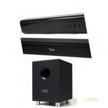 Triple Power C100 Plus TV Soundbar & Wireless Woofer - Black With Remote Control + Free Pendrive & Earpod
