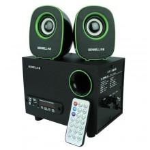 Benwell C3 Extra Bluetooth Speaker - Black/Green