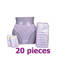 Maternity Disposal Pant 20 Pieces- Multicolor