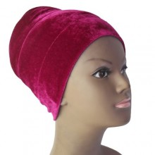 Puffy Turban – Fuchsia Pink