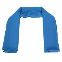Kira Hijab Wrinkled Chiffon Hijab - Blue