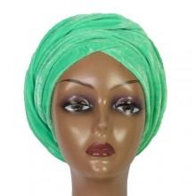 Cap Turban - Mint Green