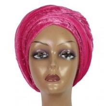 Cap Turban - Fuschia Pink