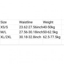 4-Steel Bone Tummy & Waist Shapewear -Black